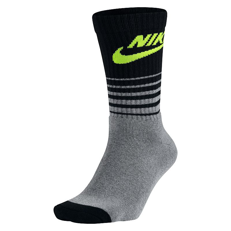Men's Nike 1-pack HBR Classic Striped Crew Socks