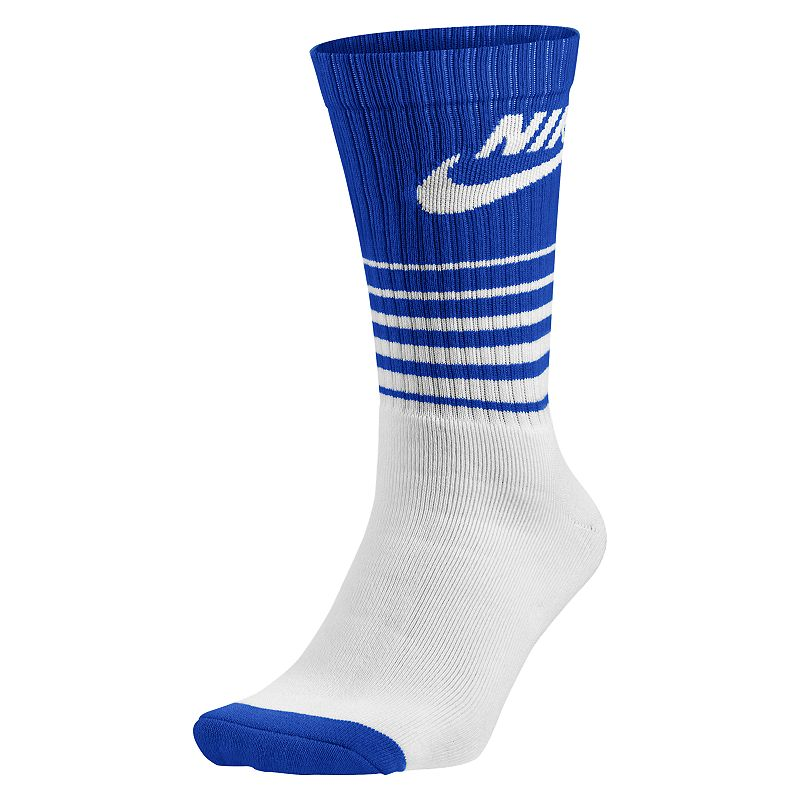 Men's Nike 1-pack HBR Classic Striped Crew Socks