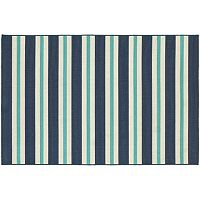 StyleHaven Maritime Multi Striped Indoor Outdoor Rug