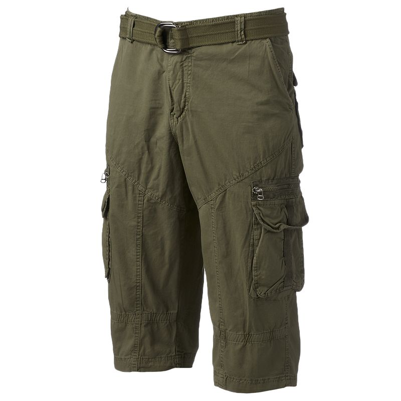 Men's XRAY Claim Digger Belted Cargo Shorts