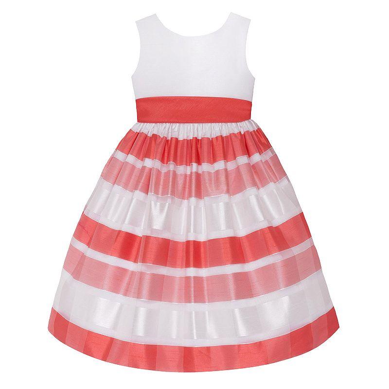 Girls 7-16 American Princess Striped Dress