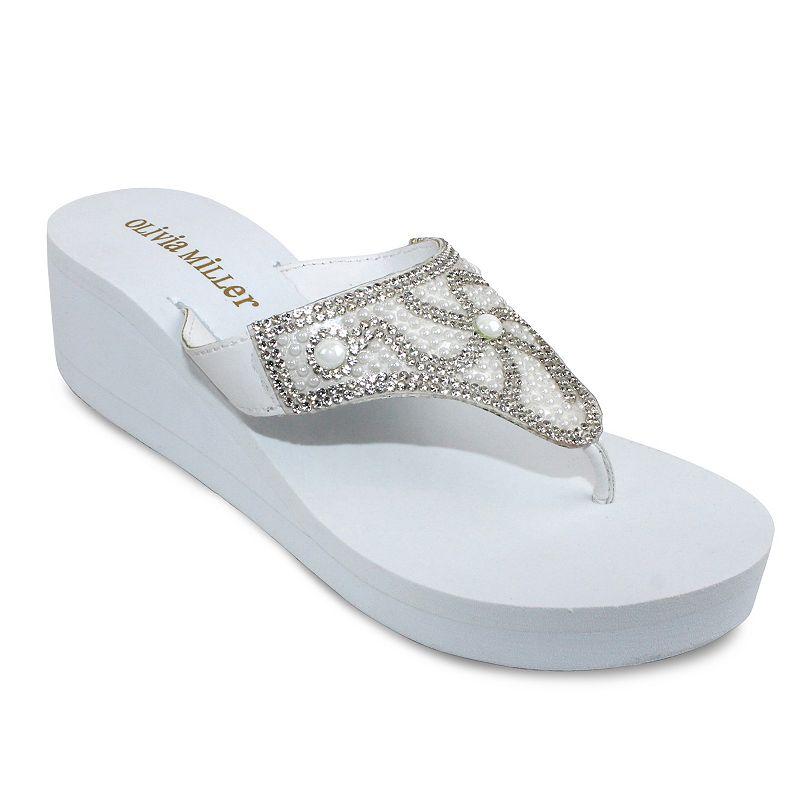 Olivia Miller Italia Women's Wedge Sandals