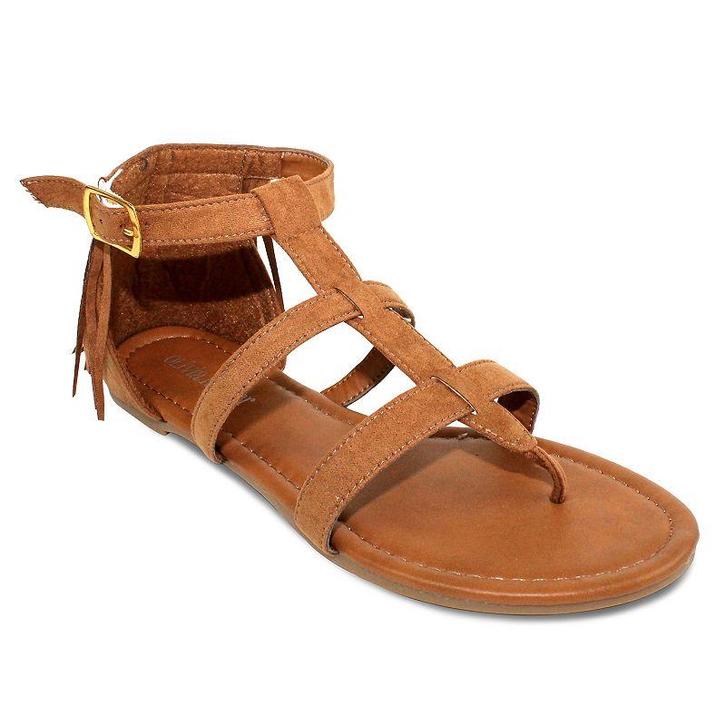 Olivia Miller Monaco Women's Fringe Sandals