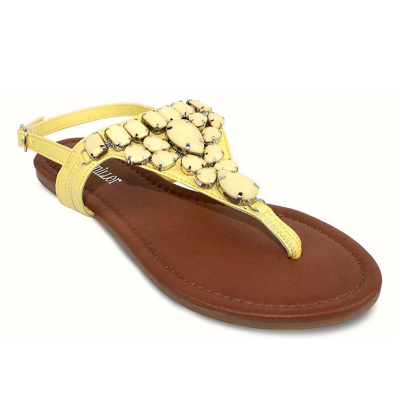 Olivia Miller Messina Women's Slingback Sandals