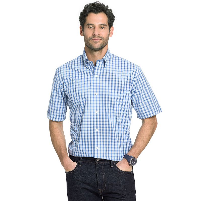 Big & Tall Arrow Hamilton Poplin Button-Down Shirt