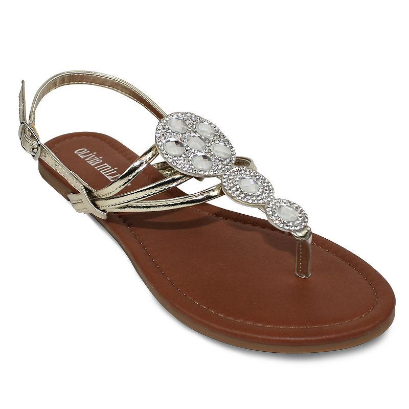 Olivia Miller Venice Women's Slingback Sandals