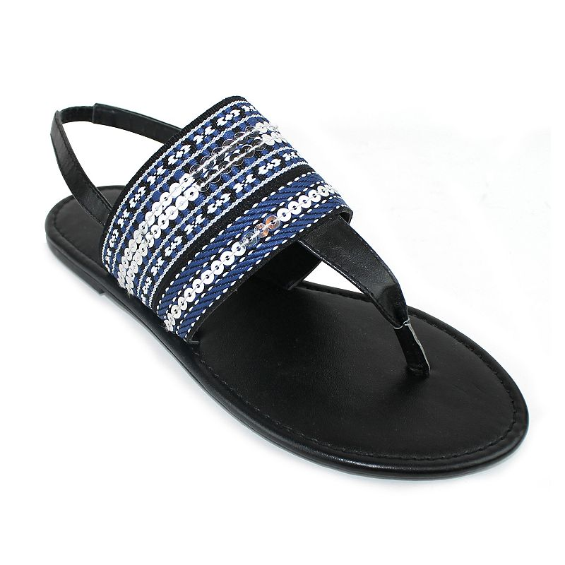 Olivia Miller Piacenza Women's Woven Sandals