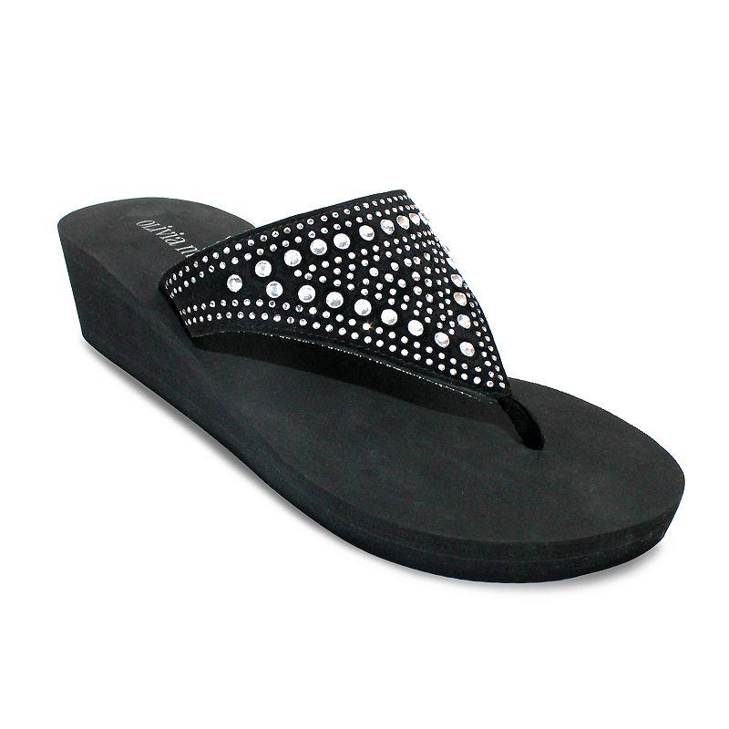 Olivia Miller Capizzi Women's Wedge Sandals