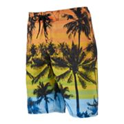 Men's Hang Ten Palms Stretch Cargo Board Shorts