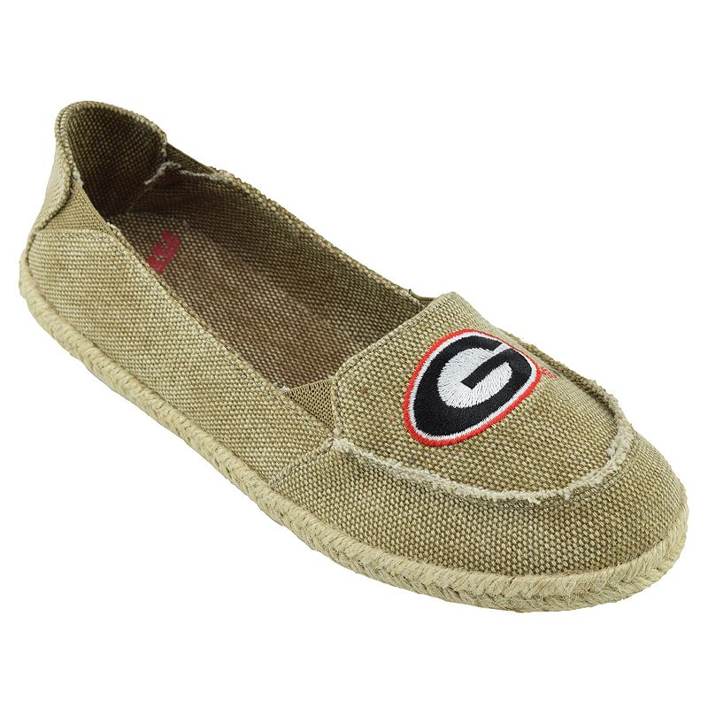 Women's Campus Cruzerz Georgia Bulldogs Cabo Slip-On Shoes