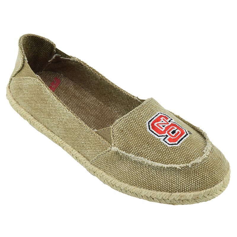 Women's Campus Cruzerz North Carolina State Wolfpack Cabo Slip-On Shoes