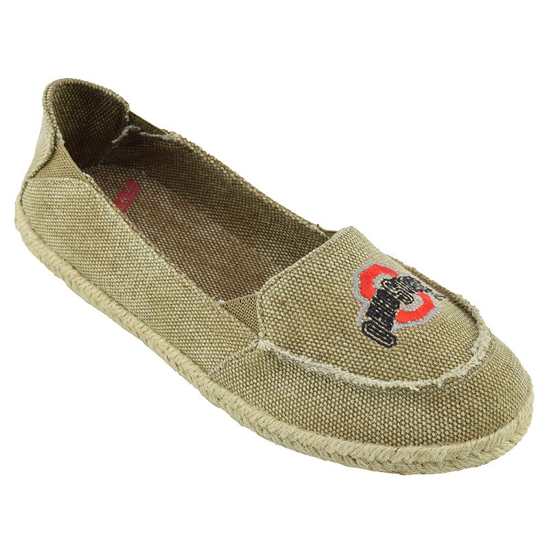 Women's Campus Cruzerz Ohio State Buckeyes Cabo Slip-On Shoes