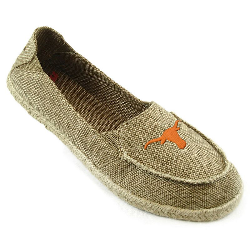 Women's Campus Cruzerz Texas Longhorns Cabo Slip-On Shoes