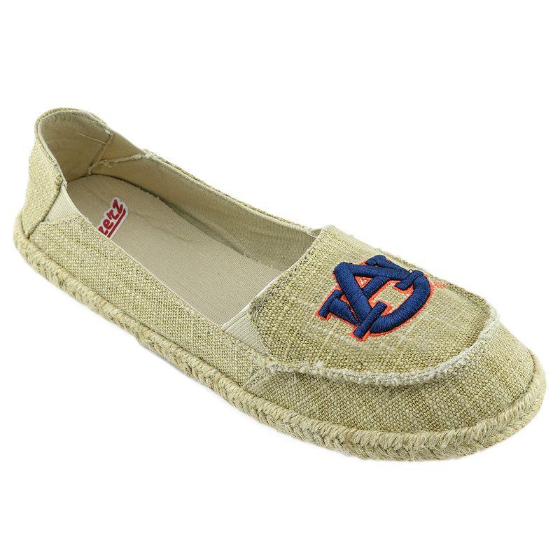 Women's Campus Cruzerz Auburn Tigers Sparkle Cabo Slip-On Shoes