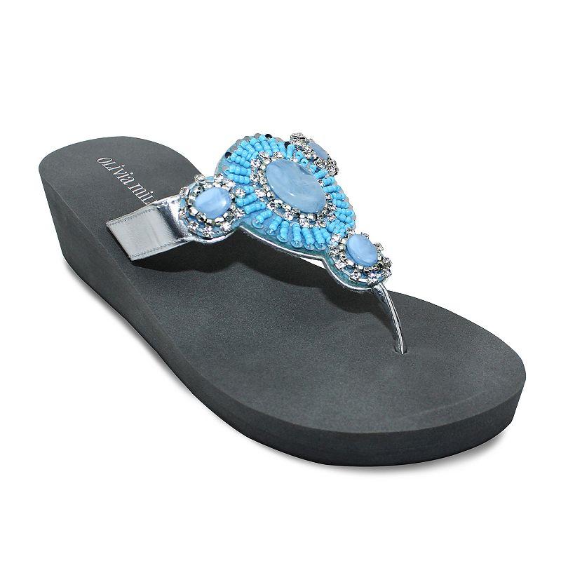 Olivia Miller Fano Women's Wedge Sandals