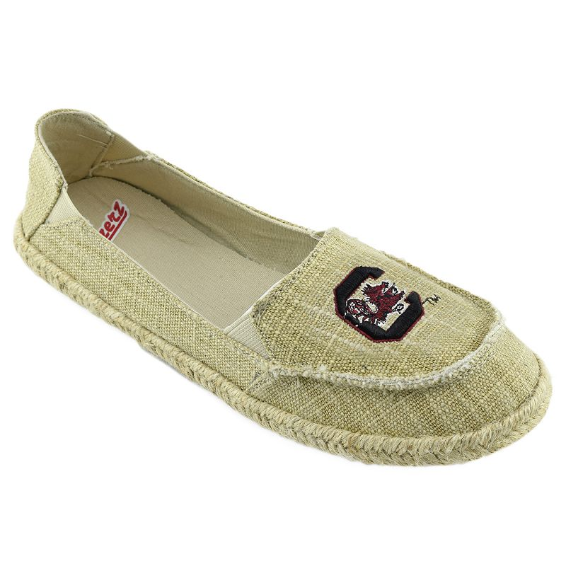 Women's Campus Cruzerz South Carolina Gamecocks Sparkle Cabo Slip-On Shoes