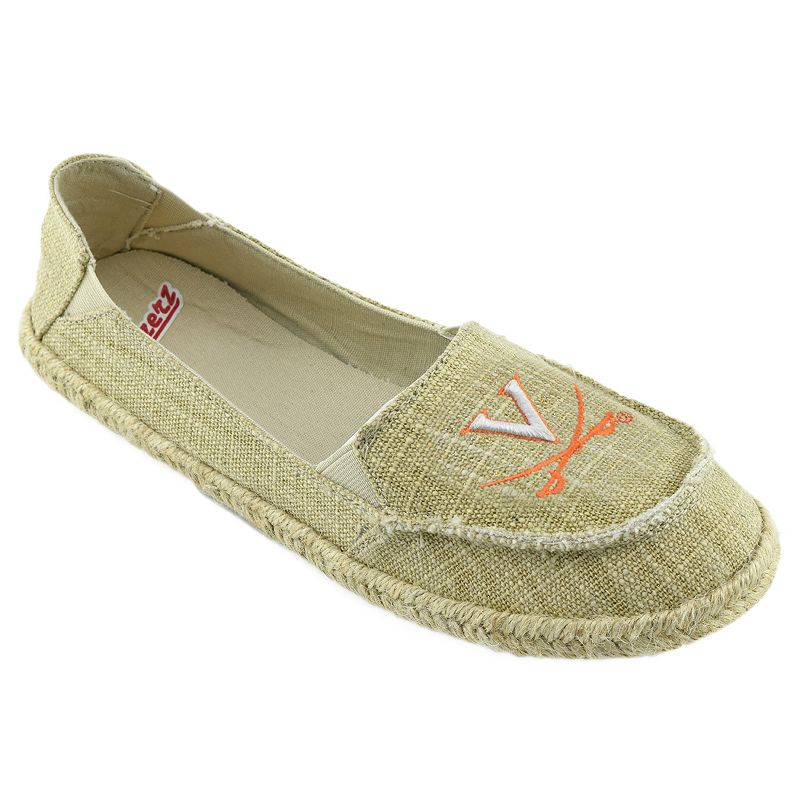 Women's Campus Cruzerz Virginia Cavaliers Sparkle Cabo Slip-On Shoes
