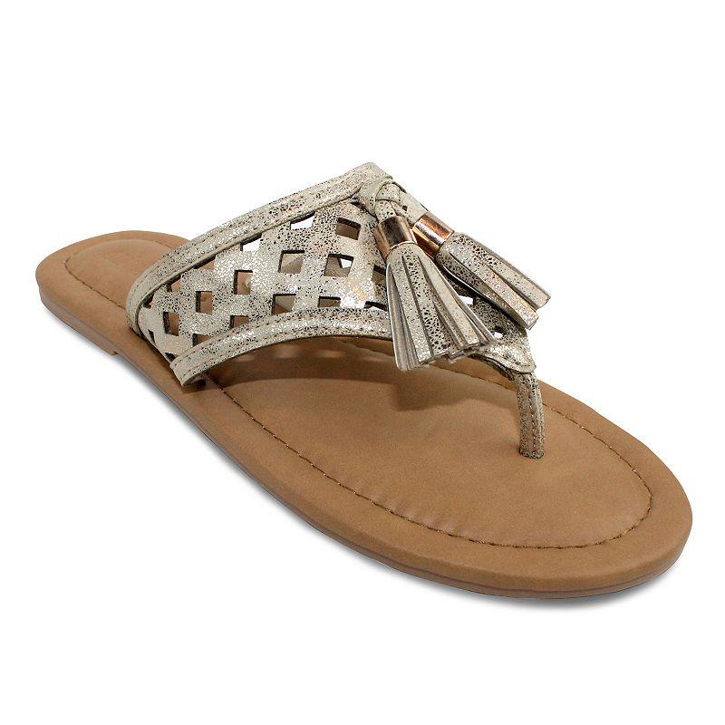 Olivia Miller Bavagna Women's Tassel Sandals