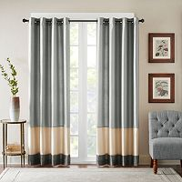 Bombay Connor Pieced Polyoni Curtain