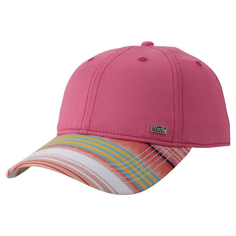 Women's Keds Striped Brim Baseball Hat