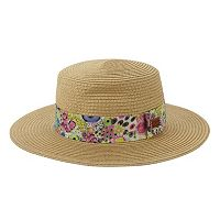 Women's Keds Liberty Straw Boater Hat