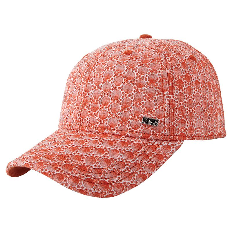 Women's Keds Eyelet Pattern Baseball Hat