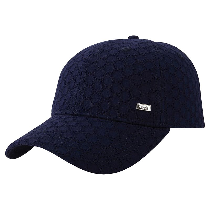Women's Keds Eyelet Pattern Baseball Hat