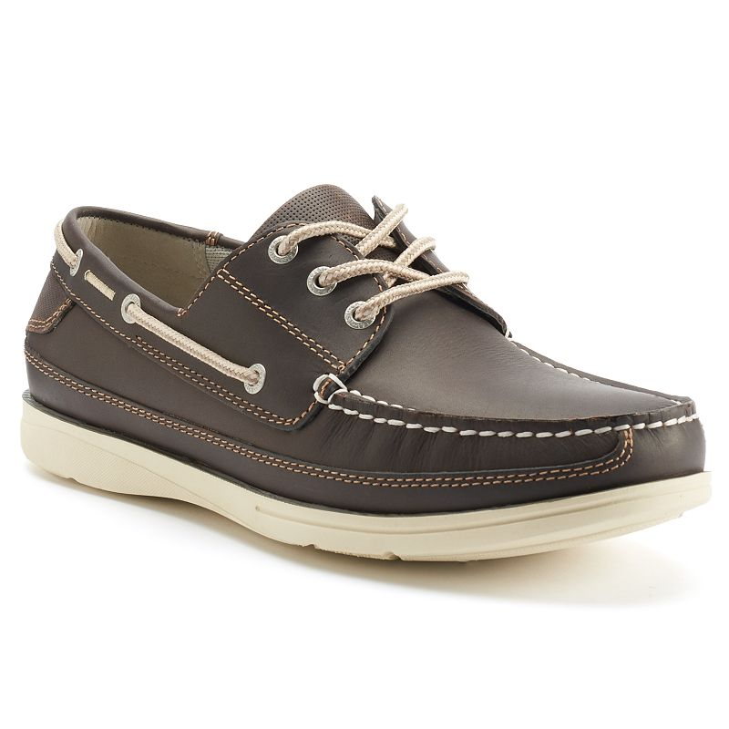 Chaps Portman Men's Leather Boat Shoes