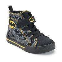 DC Comics Batman Toddler Boys' High-Top Sneakers
