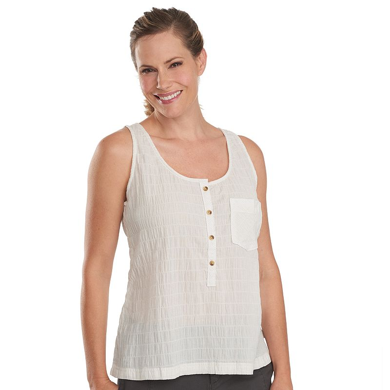 Women's Woolrich Spring Fever Puckered Tank