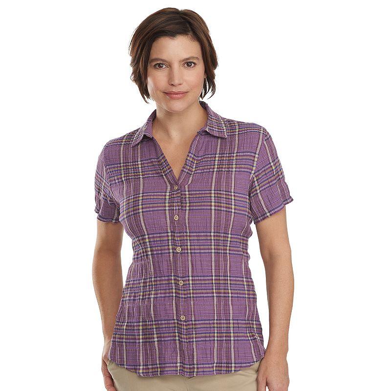 Women's Woolrich Carrabelle Plaid Button-Down Shirt