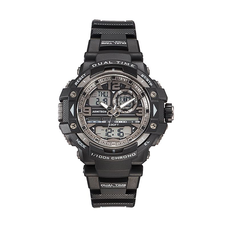 Armitron Men's Sport Analog & Digital Chronograph Watch