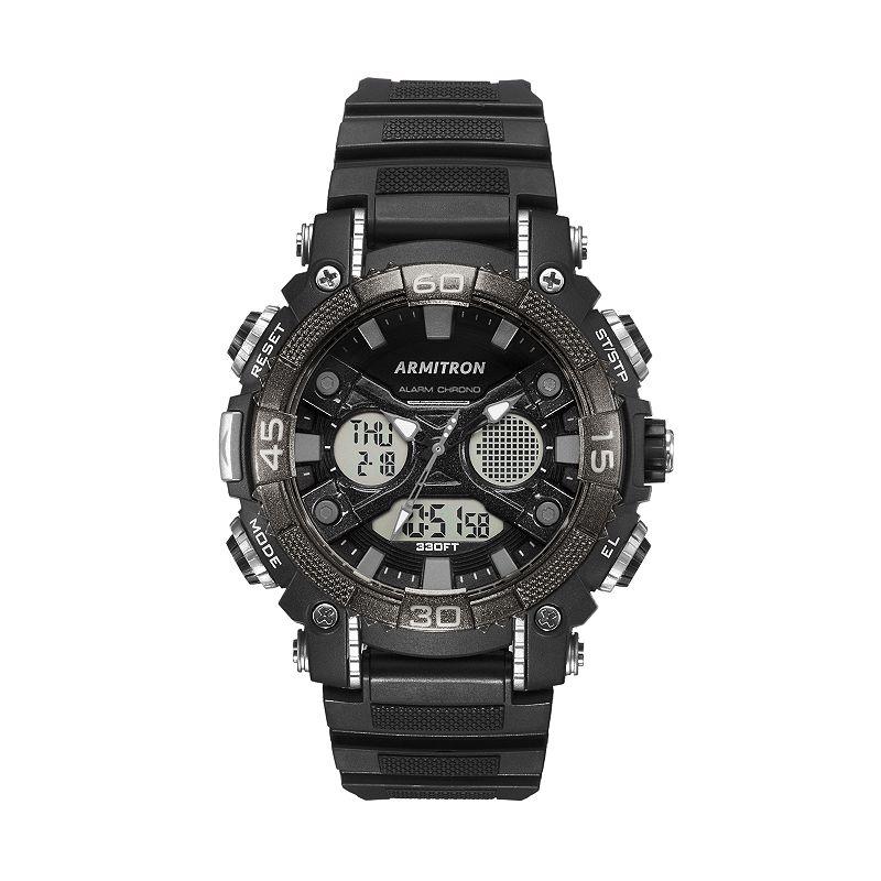 Armitron Men's Illuminator Sport Analog & Digital Chronograph Watch
