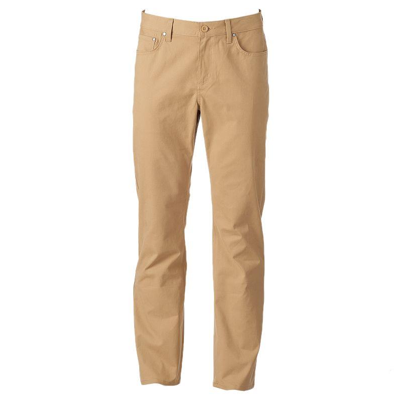 Men's Apt. 9 Modern-Fit Straight-Leg Pants