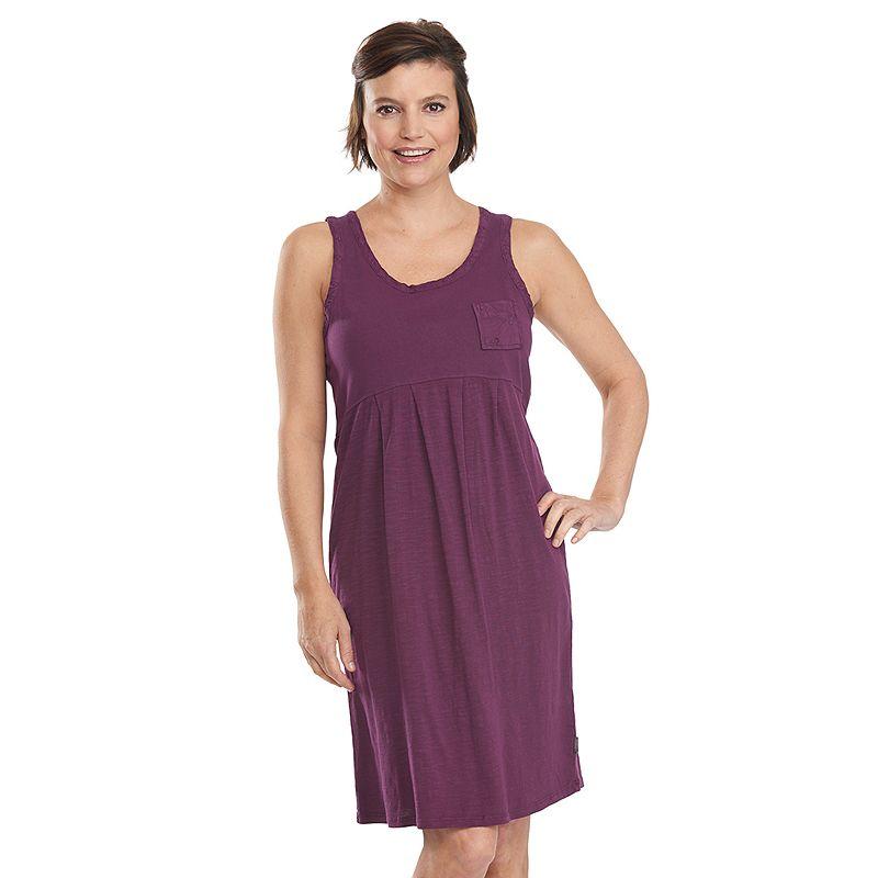 Women's Woolrich Lake Forks Slubbed Empire Dress