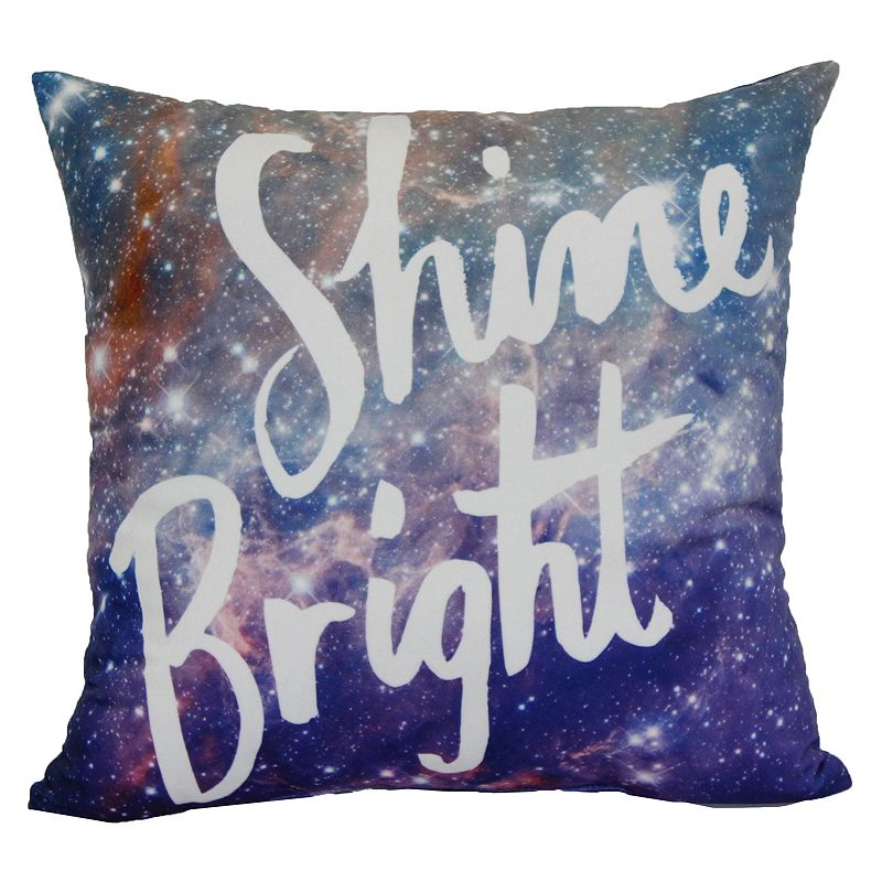 Simple By Design ''Shine Bright'' Throw Pillow