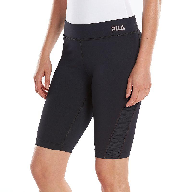 Plus Size FILA SPORT® Strength Bermuda Workout Shorts