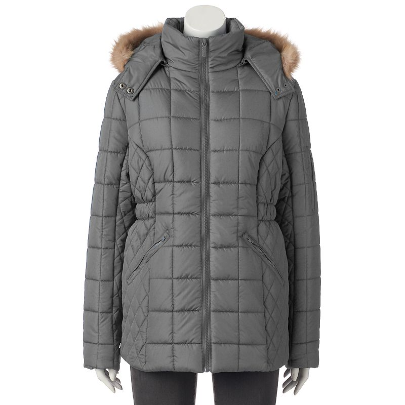 Women's Totes Hooded Quilted Puffer Jacket