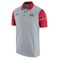 Men's Nike Ohio State Buckeyes Sideline Dri-FIT Polo