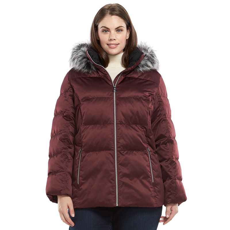 Plus Size ZeroXposur Powder Hooded Jacket