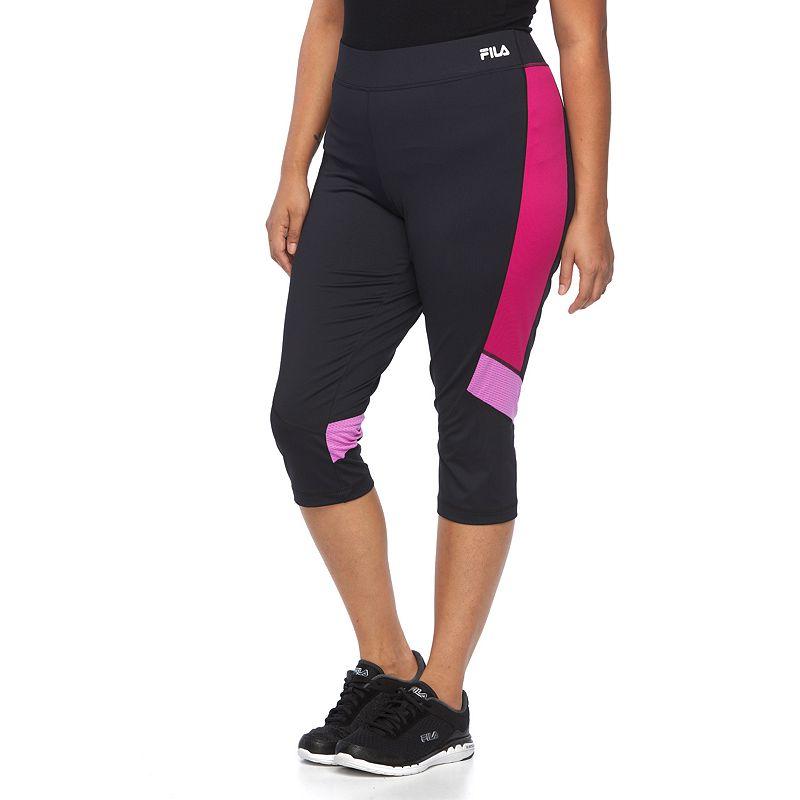 Plus Size FILA SPORT® Colorblock Running Capris