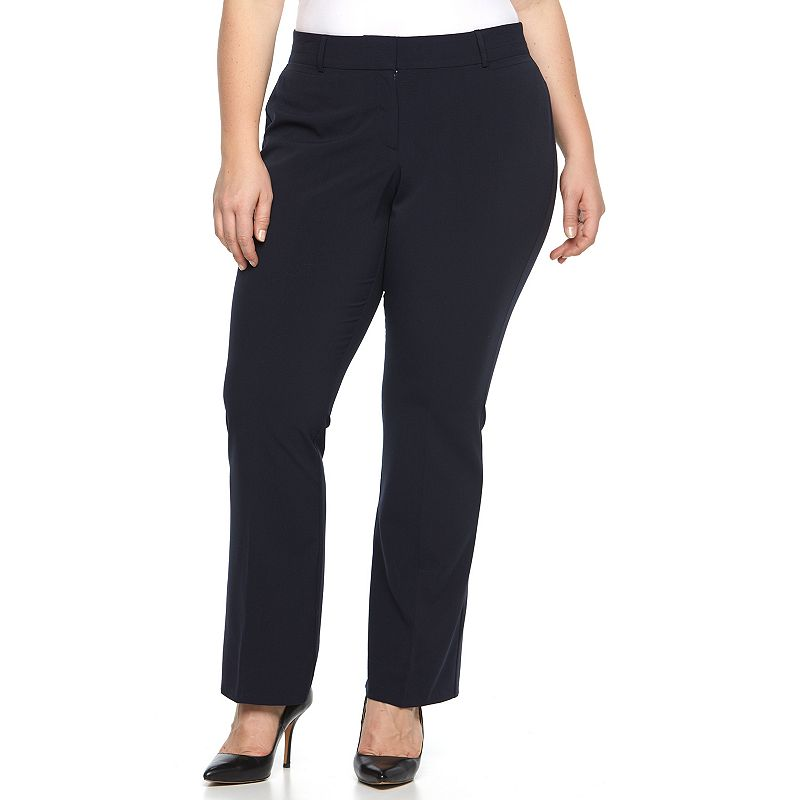 Plus Size Briggs Curvy Bootcut Dress Pants