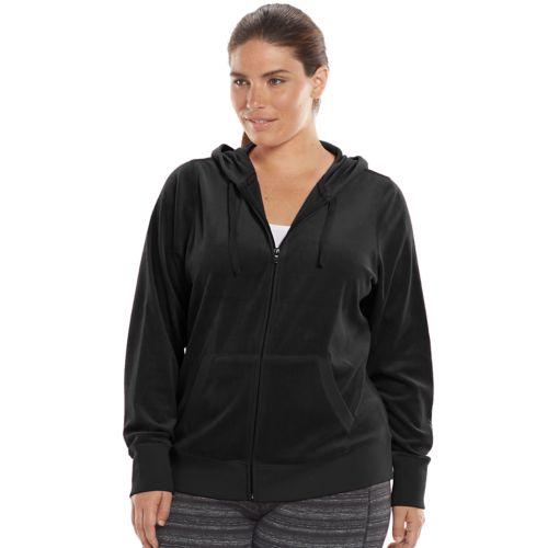 Plus Size Tek Gear® Velour Hoodie