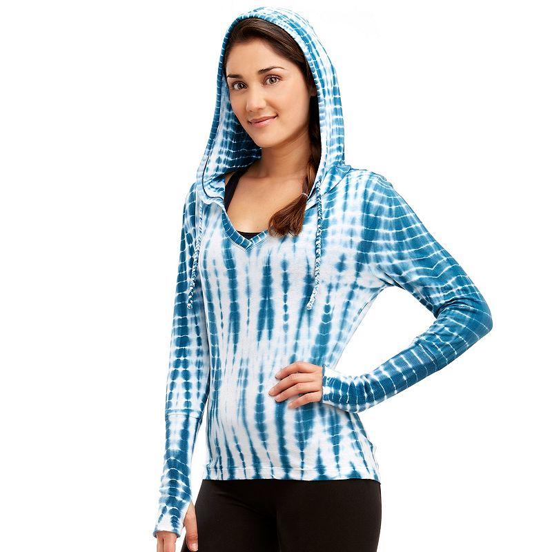 Women's Marika Balance Collection Tie-Dye Yoga Hoodie