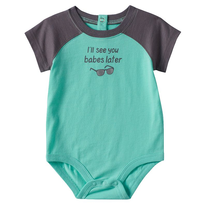 Baby Boy Jumping Beans® Sunglasses Graphic Bodysuit