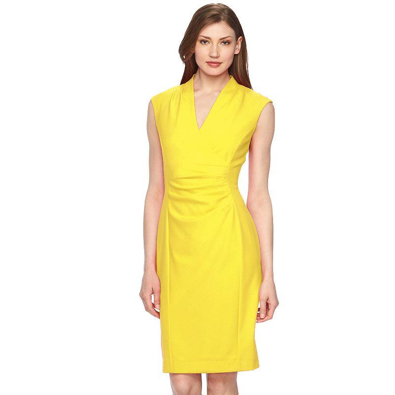 Women's Dana Buchman Surplice Sheath Dress