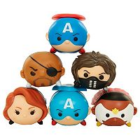Tsum Tsum Marvel Captain America 6-Pack