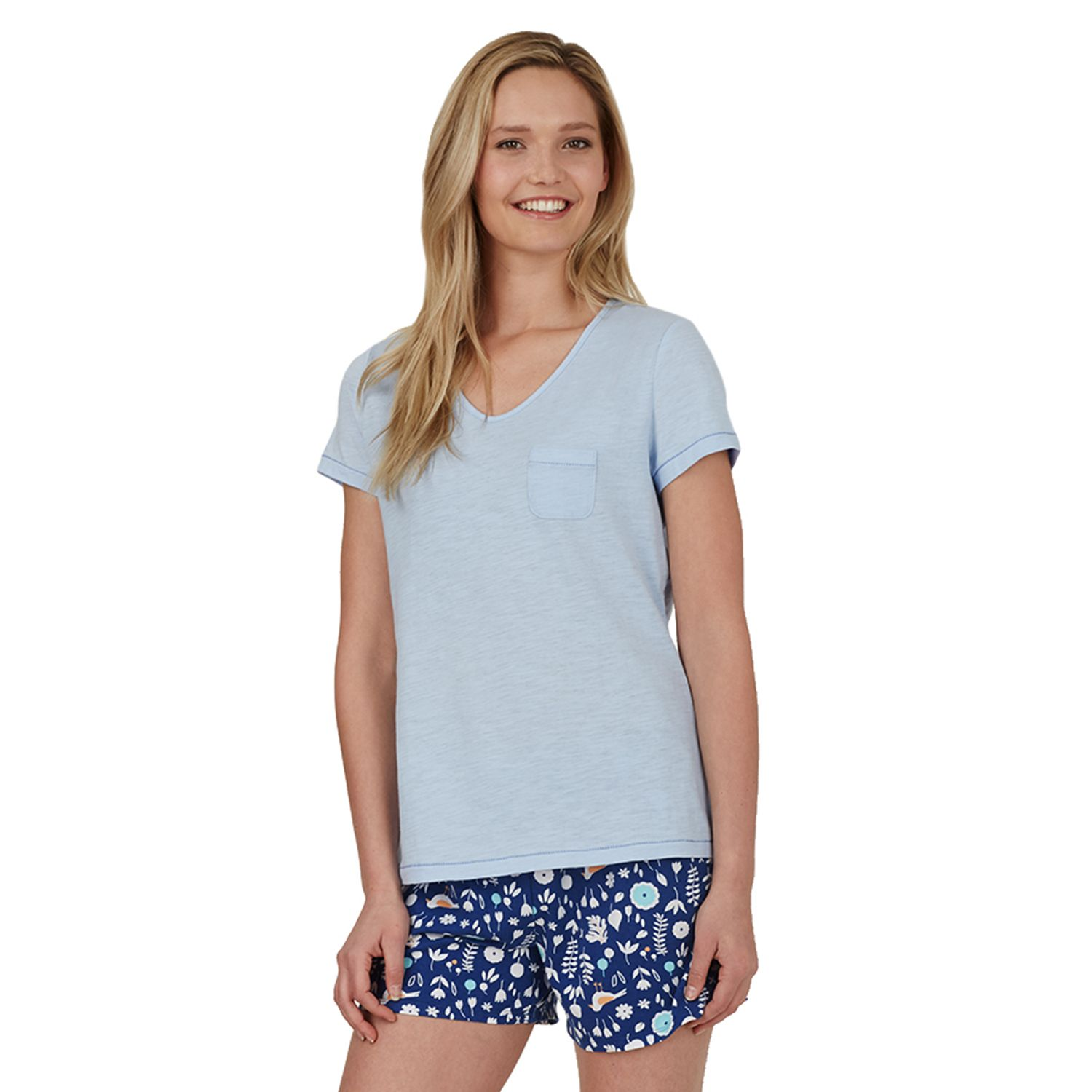 Womens Jockey Pajamas: Solid Pajama Top