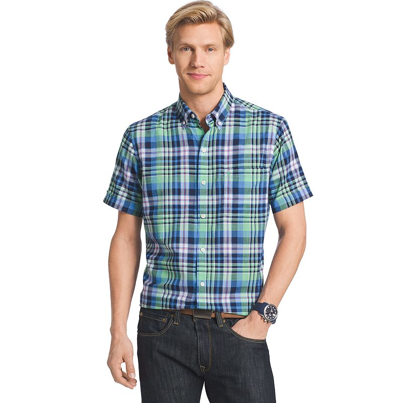 Men's IZOD Dockside Plaid Shirt