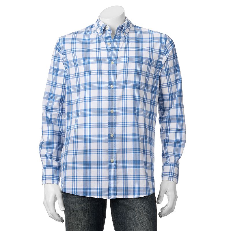 Big & Tall SONOMA Goods for Life™ Poplin Button-Down Shirt